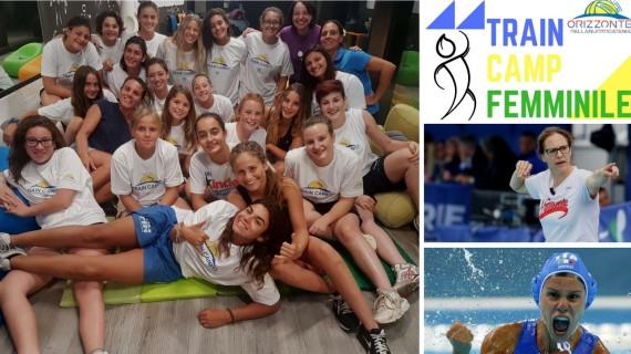giovani atlete vs campionesse olimpiche Tania Di Mario e Martina Miiceli
