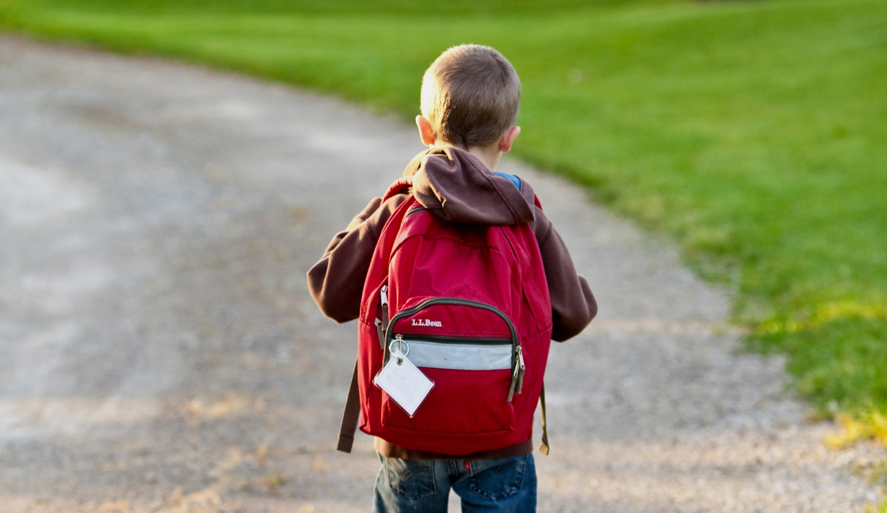 Genitori giù le mani da borsoni sportivi e zaini di vostro figlio